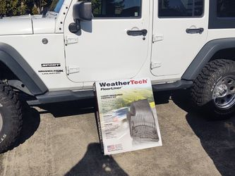 2018 Jeep Wrangler JK Back Seat WeatherTech Floor Mats for Sale in Tacoma,  WA