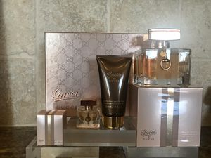 Gucci Women's 3pc fragrance Gift Set, Brand New for Sale in Littleton, CO