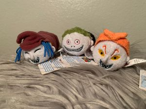 Disney's Nightmare Before Christmas Tsum Tsum Plushies for Sale in Henderson, NV