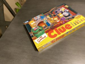 Simpson's clue board game complete for Sale in Beaverton, OR