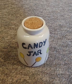 Candy Jar With Cork Lid for Sale in Graham, NC