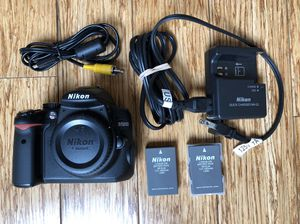 Nikon D5000 kit plus 2 lenses and bag for Sale in Los Angeles, CA