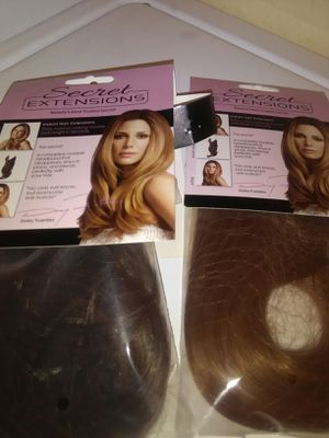SECRET HAIR EXTENSIONS for Sale in Vancouver, WA