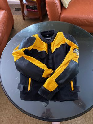 EXL Yellow and Black motorcycle gear. Jacket only for Sale in Manassas, VA