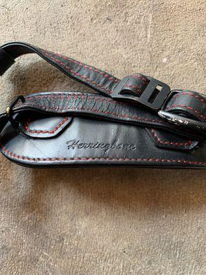 Herringbone heritage leather camera strap grip for Sale in Garden Grove, CA