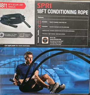 Conditioning Rope 18ft for Sale in Chicago, IL