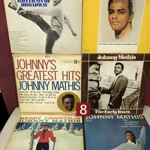 Johnny Mathis 6 Albums for Sale in Fort Lee, NJ