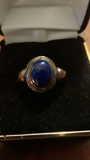 Gorgeous vintage Sterling Silver 925 genuine stone ring. for Sale in Queens, NY