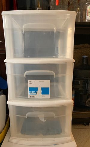 3 drawer plastic container for Sale in Los Angeles, CA