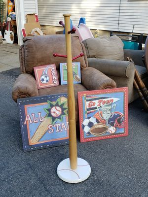 Sport themed wall hangings for Sale in Cranston, RI