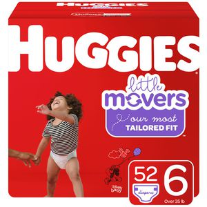 3 boxes size 6 little movers Huggies for Sale in Vancouver, WA