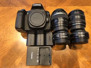 Canon 80D and Lenses for Sale in San Francisco, CA