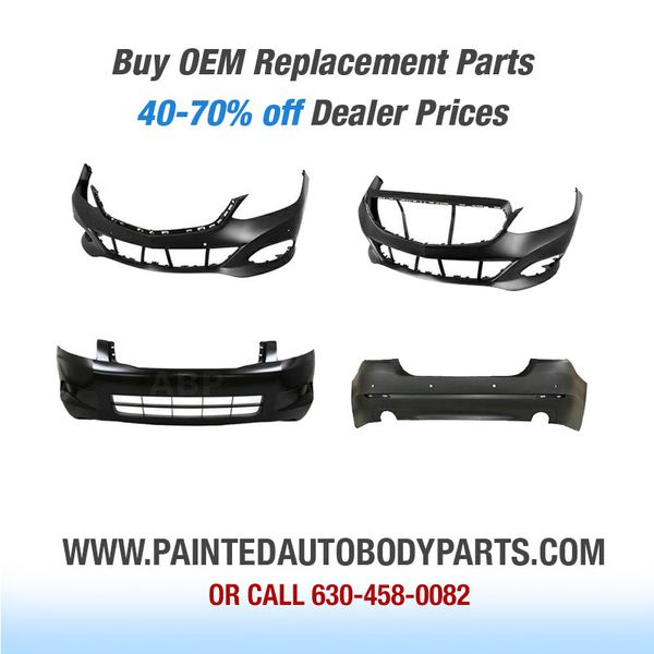 Painted Auto Body Parts Bumper Fender Hood all car parts