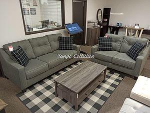 Modern 2 PC Sofa and Loveseat Set, Grey, SKU# ASH5390138/35TC for Sale in Santa Fe Springs, CA
