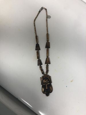 Tribal Wooden Necklace for Sale in Parkville, MD