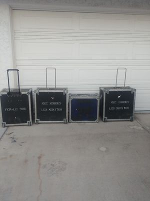 Roady box style cases. Gibraltar St. for Sale in Las Vegas, NV
