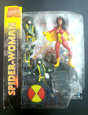 Marvel Select SpiderWoman action figure (unopened in box) for Sale in Pflugerville, TX