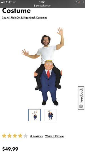 Trump ride on Halloween costume for Sale in Boca Raton, FL
