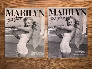 1986 original Marilyn Monroe books hard and soft cover for Sale in Worth, IL