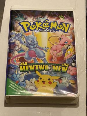 Pokemon the first movie vhs with case for Sale in St. Louis, MO
