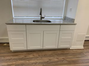 Base cabinet with granite countertop and sink for Sale in Adelphi, MD