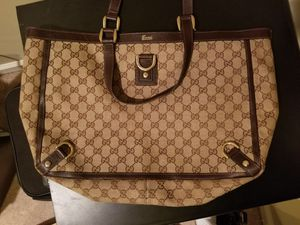 Authentic Gucci tote bag for Sale in Charlottesville, VA