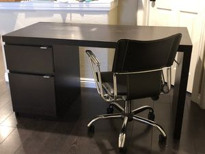 Modern black desk chair for Sale in Chula Vista, CA