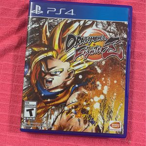 Dragon Ball FighterZ For The Ps4 for Sale in Miami, FL