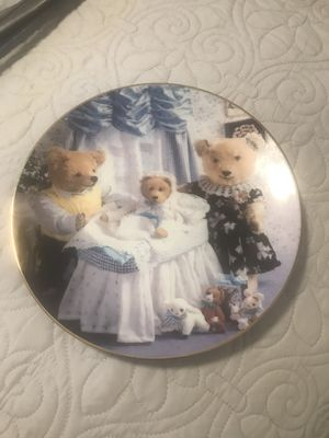Two collector Teddy Bear plates for Sale in Thornton, CO