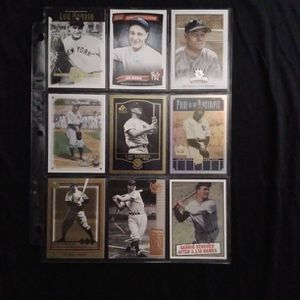 (9) Different LOU GEHRIG Baseball Card Lot New York Yankees for Sale in Redmond, WA