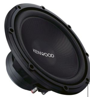 "Kenwood Road Series 12"" Single-Voice-Coil 4-Ohm Subwoofer - Black for Sale in Scottsdale, AZ"