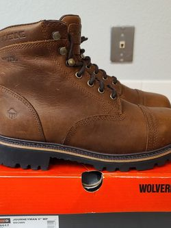 Band New Wolverine Soft Toe Work Boots Size 8.5 for Sale in Riverside,  CA