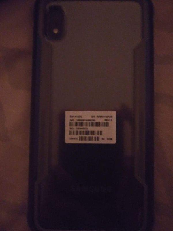 Samsung A10e with case