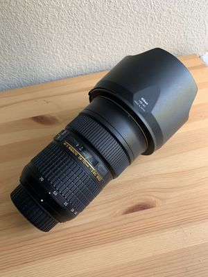 Nikon AF-S NIKKOR 24-70mm f/2.8G ED Lens for Sale in San Diego, CA