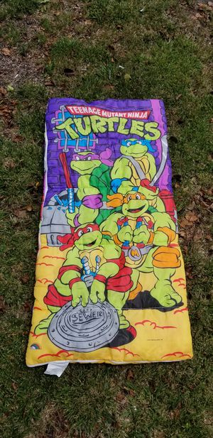 Teenage mutant ninja turtles TMNT sleeping bag for Sale in Asbury Park, NJ