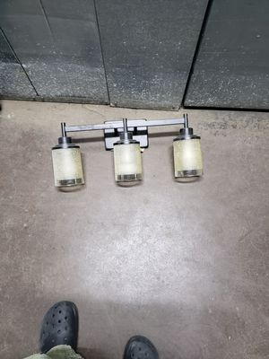 Accent bathroom light for Sale in Chicago, IL