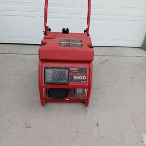 """GENERAC"" Wheel Horse 5500 Rated Watts Heavy Duty Generator for Sale in Trenton, MI"