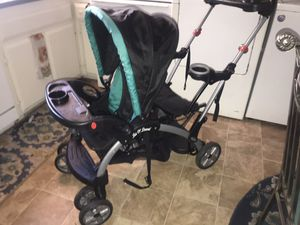 Baby Trend Sit N Stand double stroller for Sale in Campbell, CA