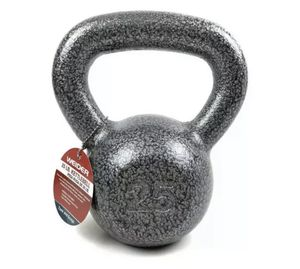 NEW Weider 25 Lb Pound Cast Iron Kettlebell Hammertone Finish BRAND NEW for Sale in Tacoma, WA