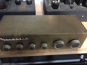 Vintage mono tube amplifiers 2 each + preamp for Sale in Stuart, FL