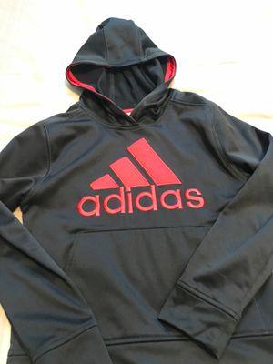 Boys Adidas Hoodie Size Small Black for Sale in Trinity, FL