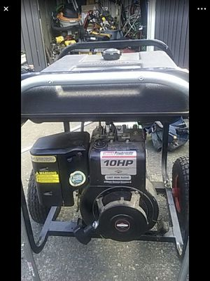 Generator Colman Power mate 5000. Runs and generates power. for Sale in Seattle, WA
