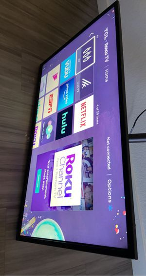 "TCL BRAND ROKU TV 32"" AND MOUNT for Sale in Denver, CO"