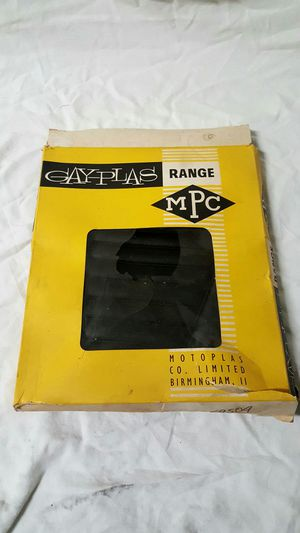 Vintage Triumph Seat cover - mint in box for Sale in San Marcos, CA