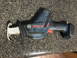 Bosch Cordless 18v Reciprocating Saw for Sale in Raleigh, NC
