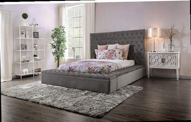 Queen Size Bed Storage Frame Mattress No Included New In Boxes for Sale in Pomona,  CA