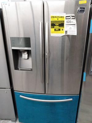 Samsung food showcase french door refrigerator stainless steel for Sale in Westminster, CA