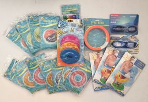 19 Pieces- Pool Toys/Accessories Bundle - All for $50. Brand New/Sealed. 👉See my other offers 👈 for Sale in Stockton, CA