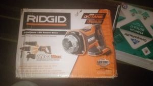Brand New in box. RIDGID 18-Volt OCTANE Brushless MEGAMax Power Base (Tool Only) for Sale in Sunset Valley, TX