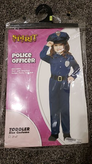 2t to 4t police officer. Halloween. for Sale in Phoenix, AZ